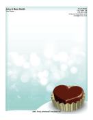 Heart Chocolate Valentine
