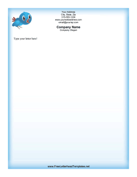 Bluebird_Letterhead Santa Letterhead Word Template on example microsoft, free business bank info, microsoft office, left margin,