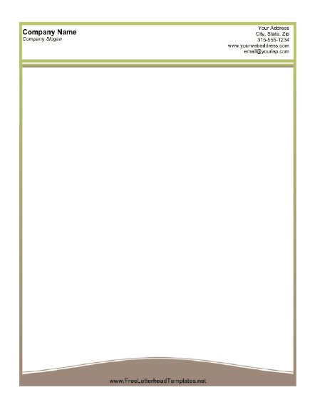 Business Letterhead – Free Business Letterhead Template