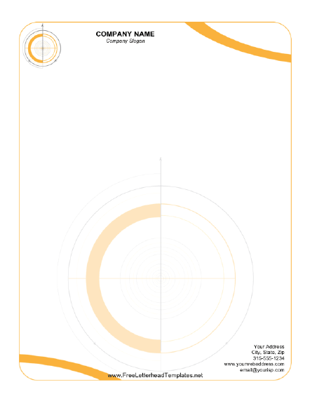Technical Letterhead Letterhead Template